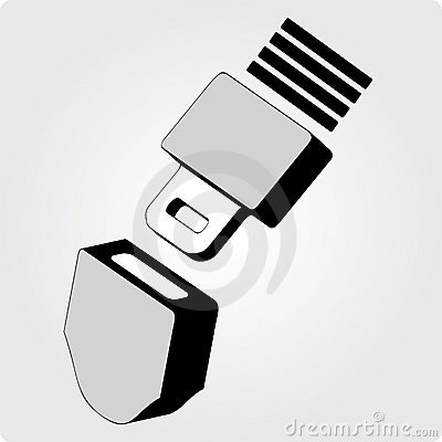 Seat Belt Animated Clipart.