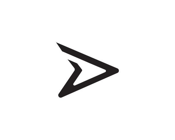 D faster logo vector.