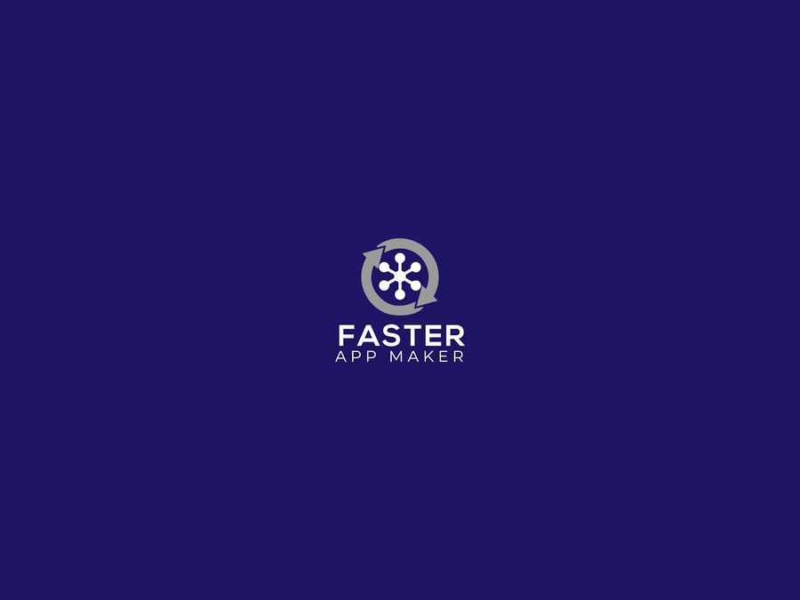 Entry #45 by Bristychowdhury3 for Faster App Maker Logo.