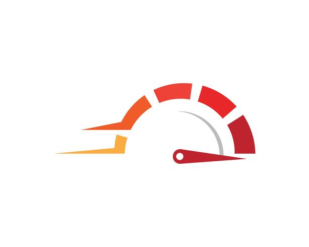 Faster Logo Template vector icon.