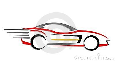 Fast Car Clipart.