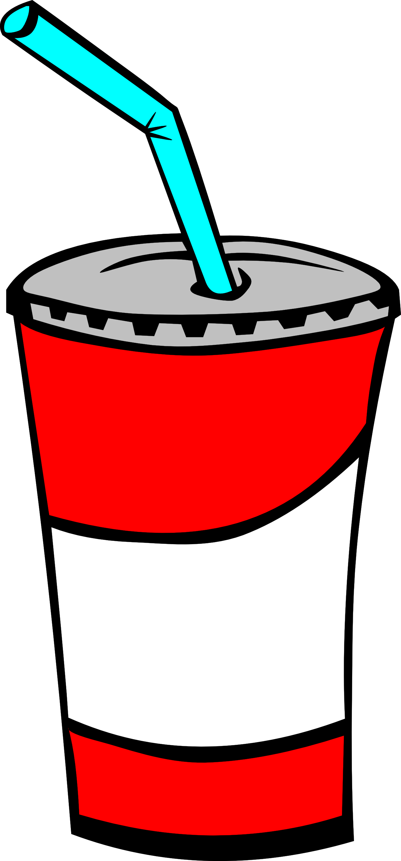 Fast food drink clipart.