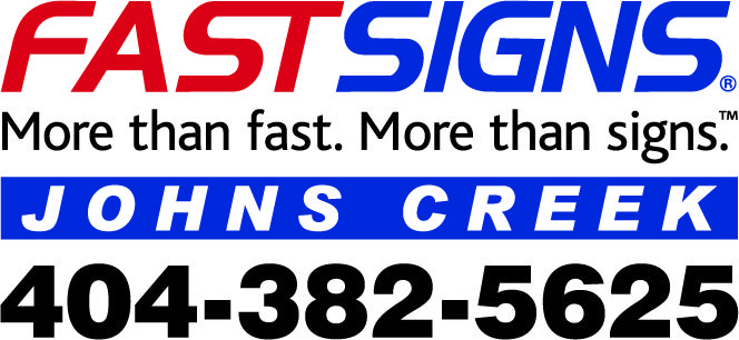 FastSigns Johns Creek Logo.