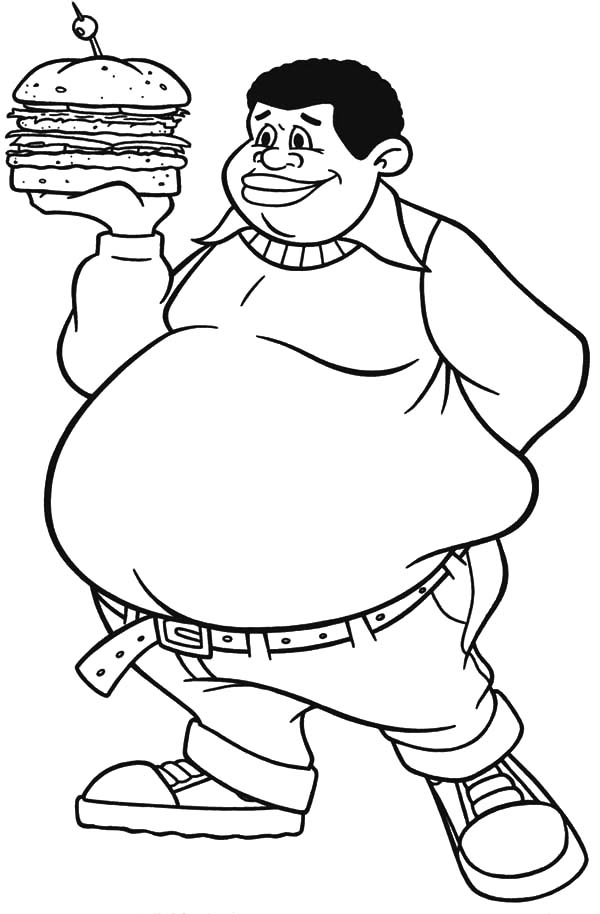 Download Fat Albert Coloring Pages.