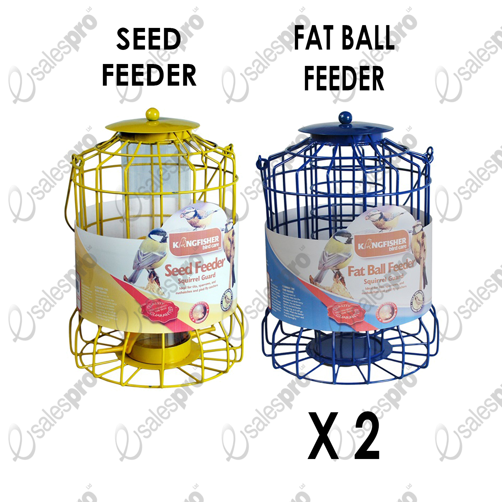 Kingfisher Squirrel Guard Bird Feeders Feed Discount Deals Seed.