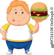 Fat Boy Clip Art.