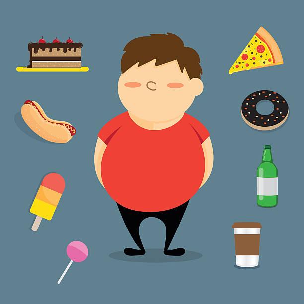 Best Fat Kid Illustrations, Royalty.