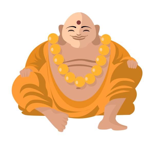 Best Fat Buddha Illustrations, Royalty.