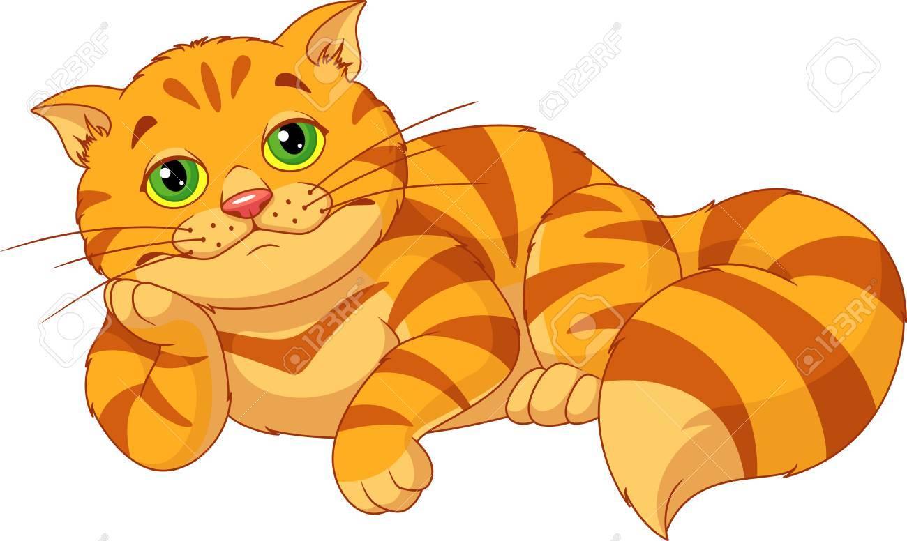 Sad Fat Cat.