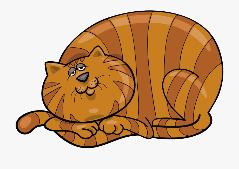 Fat Cat Clipart.
