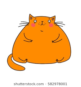 Fat cat clipart 7 » Clipart Station.