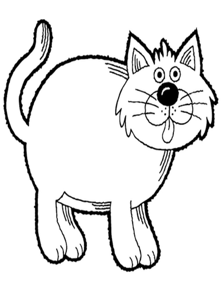 Free Outline Of Cat, Download Free Clip Art, Free Clip Art.