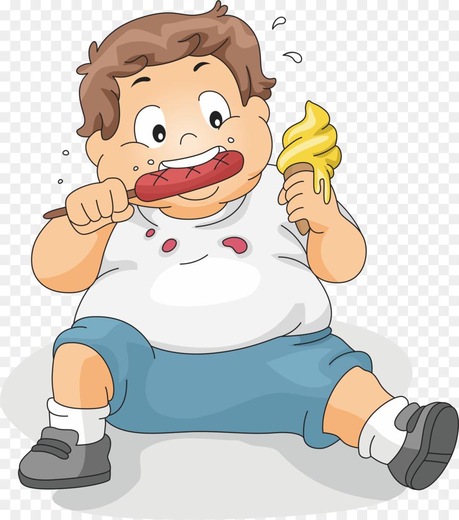 Fat Cartoon clipart.