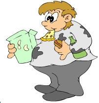 Fat Person Clipart.