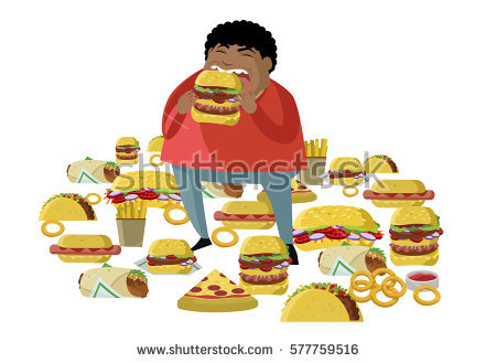 Fat Child Stock Images, Royalty.