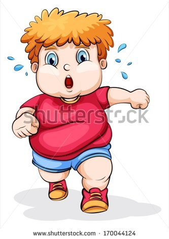 Fat Boy Stock Images, Royalty.
