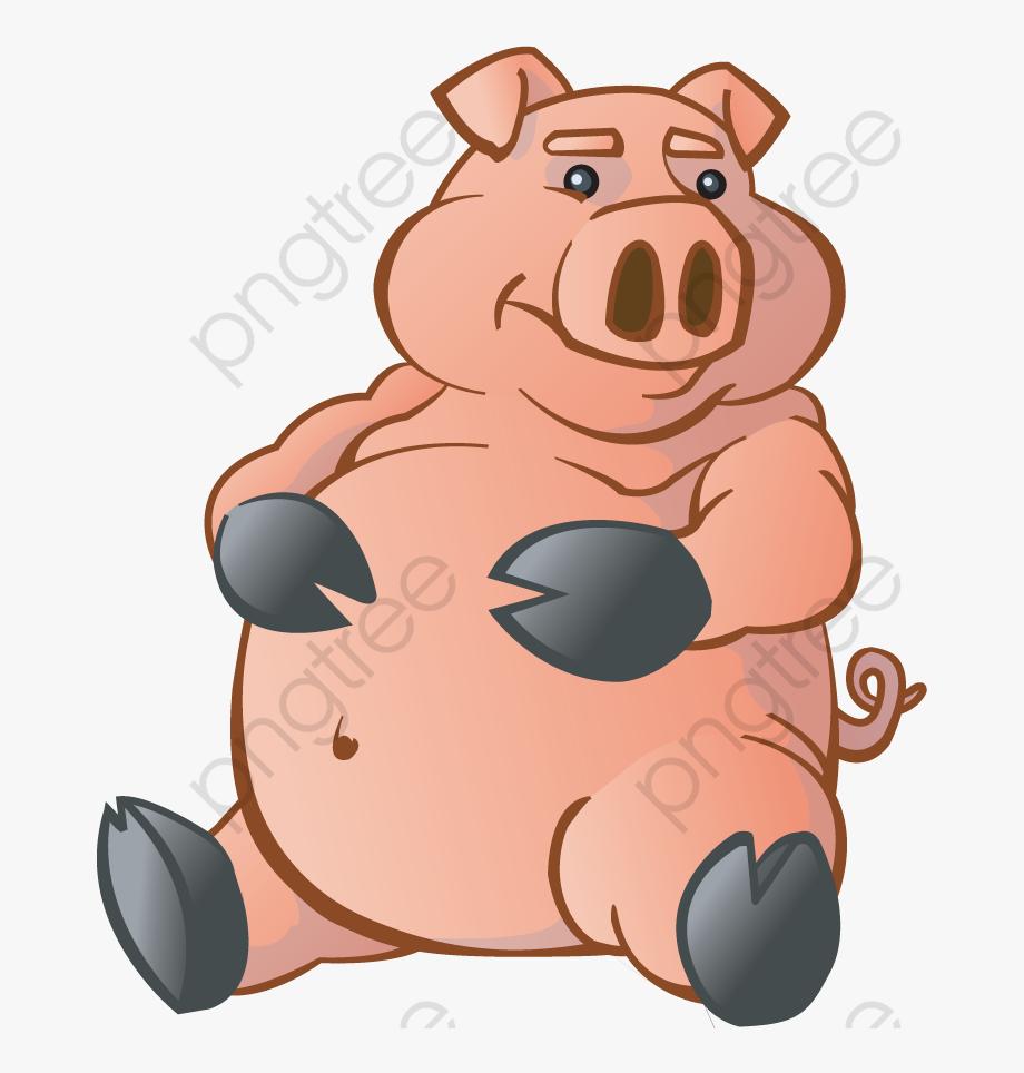 Pig Clipart Fat.