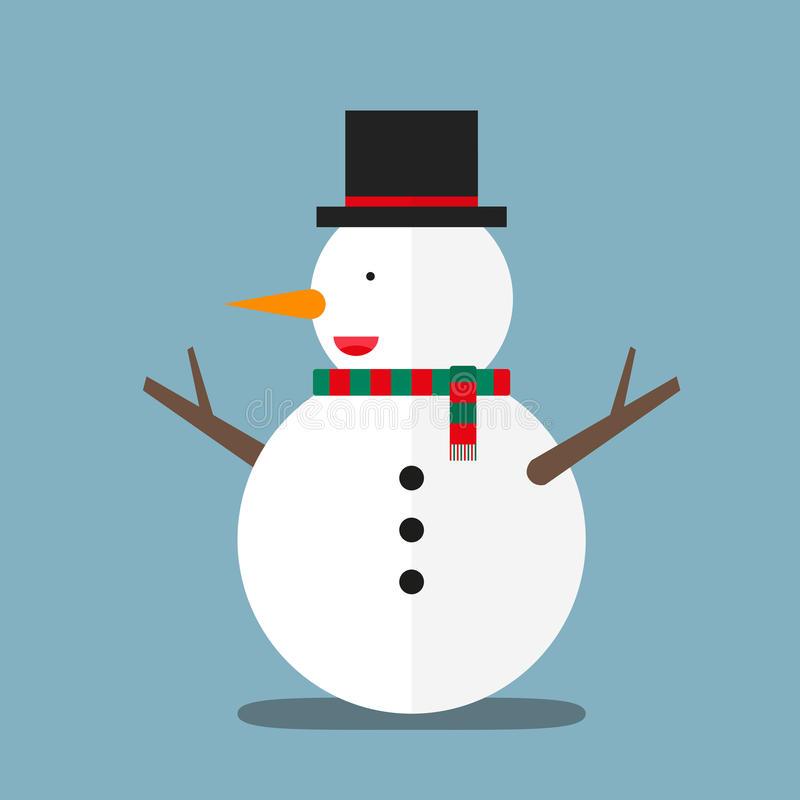 Fat Snowman Stock Illustrations.