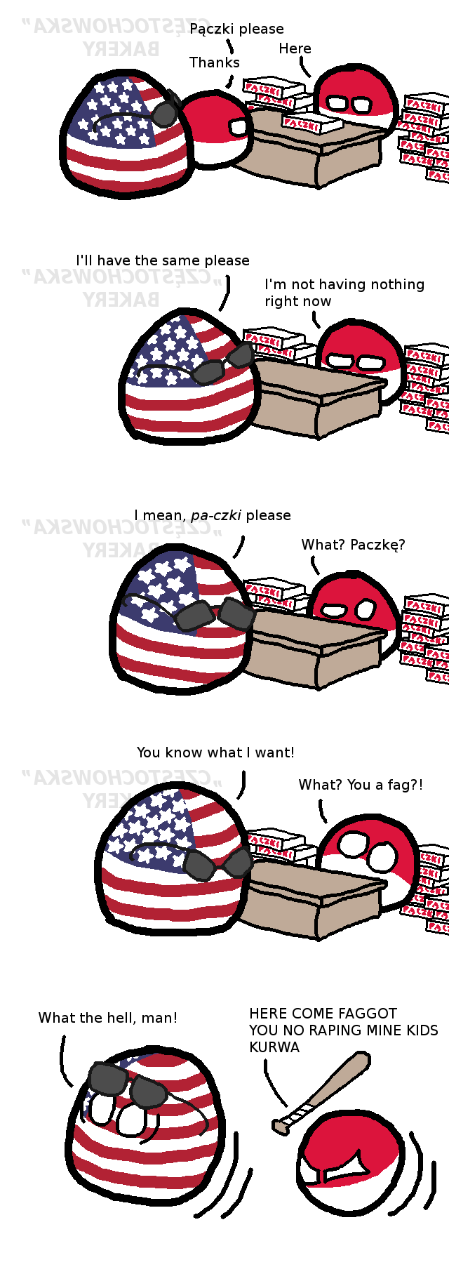 Happy Pączki Day! (Fat Thursday) : polandball.