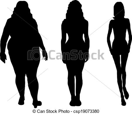 Skinny People Free Clipart.