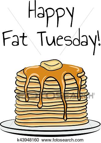 Fat Tuesday Clipart.