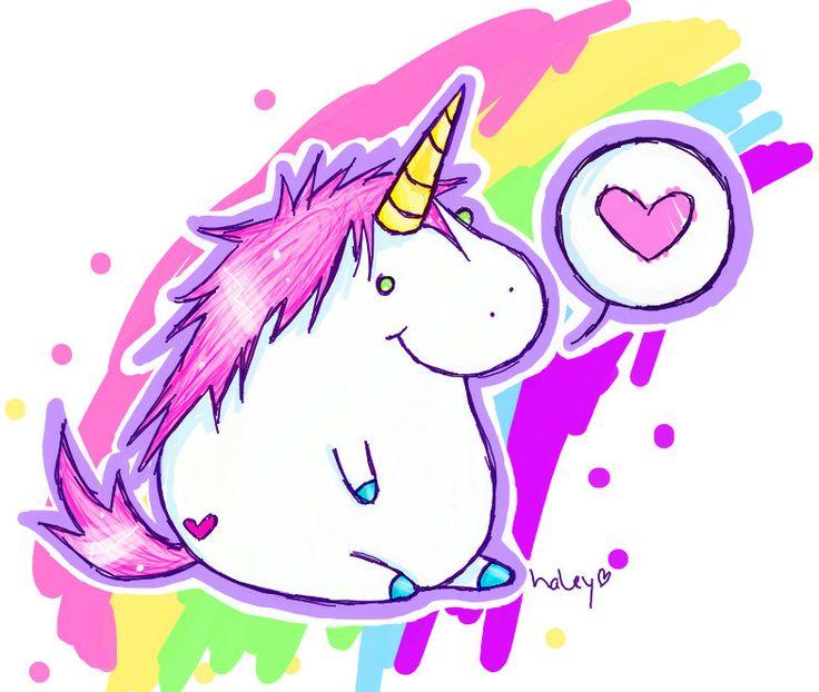 fat unicorn ^.^ #cute #kawaii #unicorn.