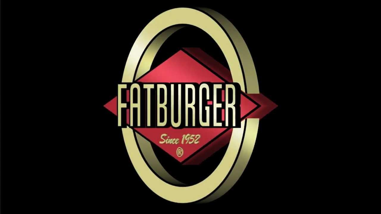 FatBurger Logo 3D.