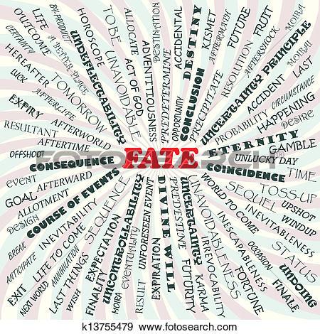 Clip Art of fate k13755479.