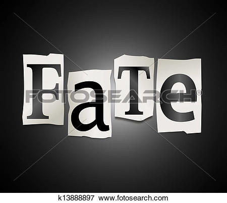 Stock Illustration of Fate concept. k13888897.