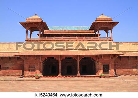 Stock Photo of Fatehpur Sikri k15240464.