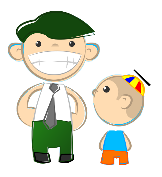 Father And Son Clipart.