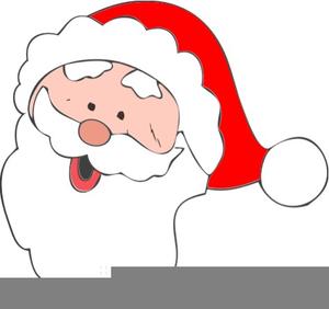 Father Christmas Beard Clipart.