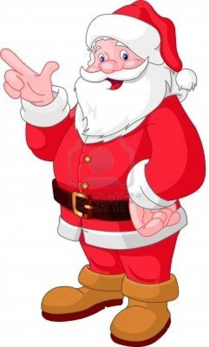 Happy father christmas clip art.