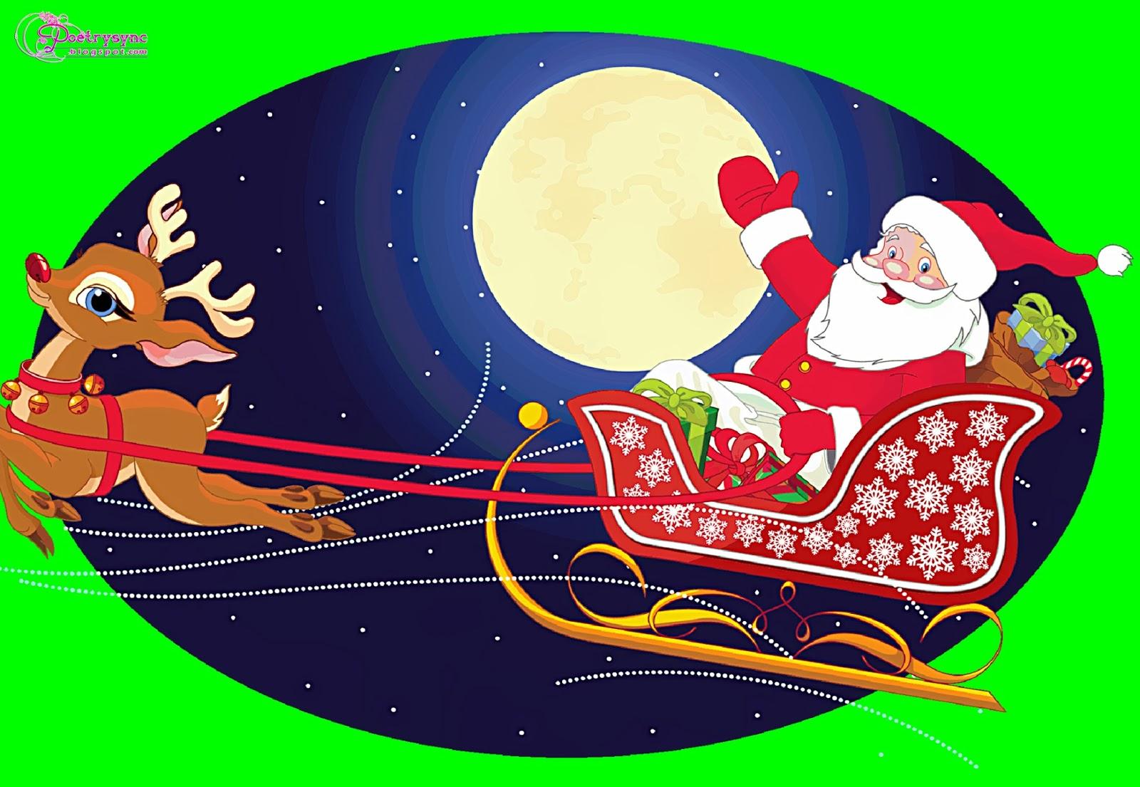 Christmas Santa Clipart.