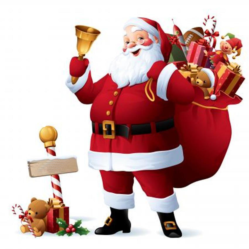 Clipart Father Christmas.