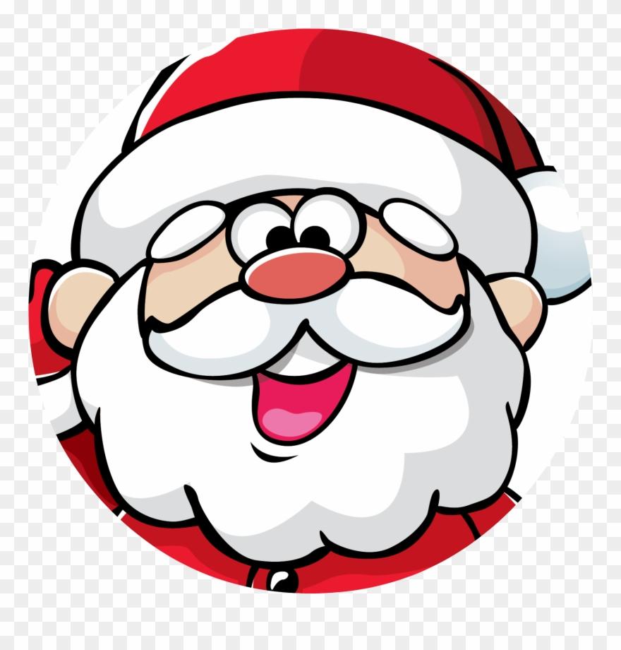 Christmas Png Santa Christmas Santa Face Transparent.