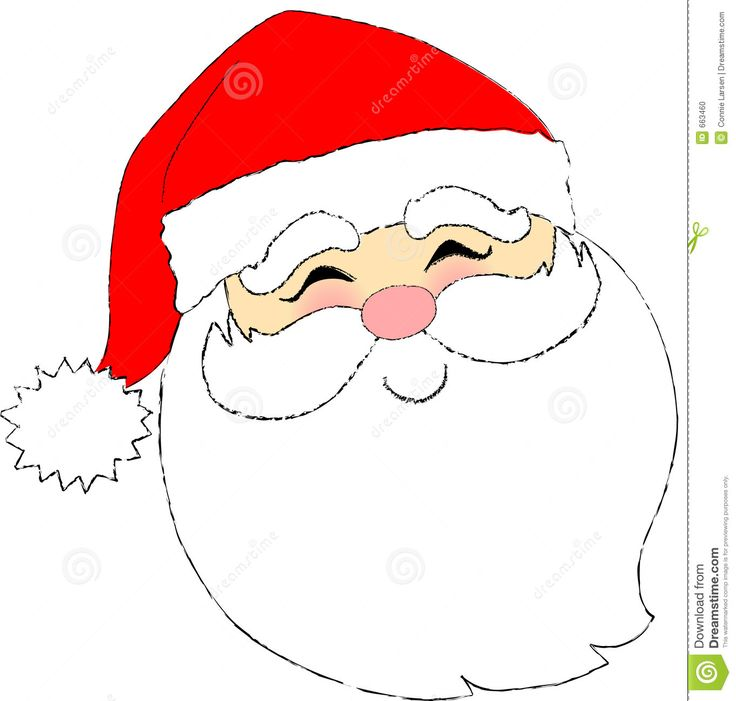 Father christmas face clipart 6 » Clipart Station.
