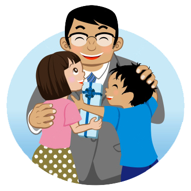 Clipart fathers day clipart.