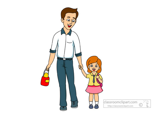 Image clipart father.