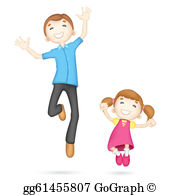 Father Daughter Clip Art.