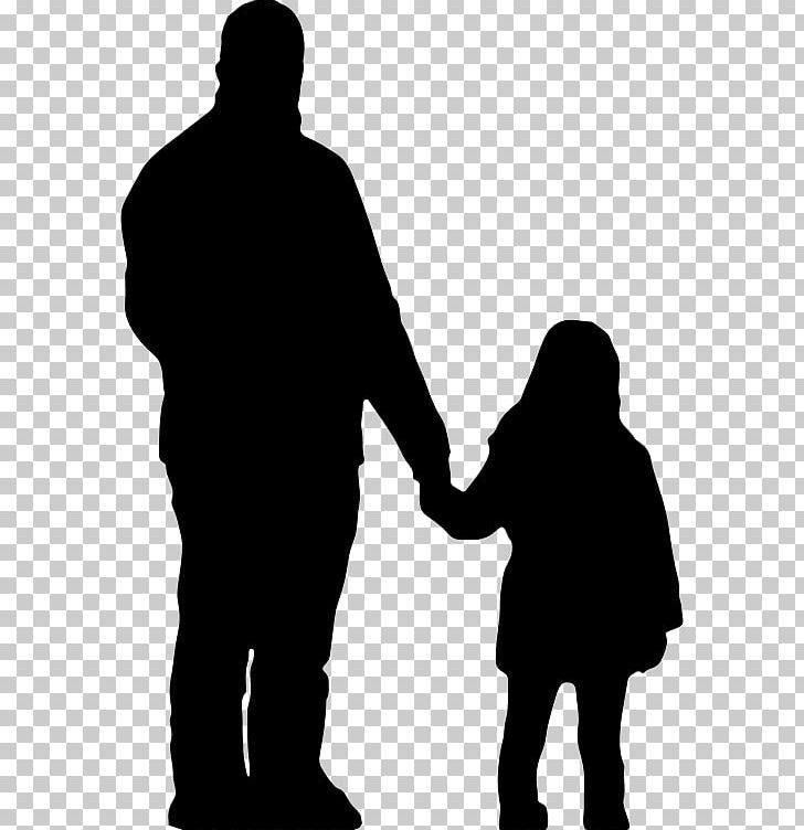 Father Daughter Silhouette Parent PNG, Clipart, Animals, Black And.