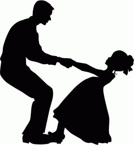 Free Father Daughter Silhouette Clip Art, Download Free Clip.