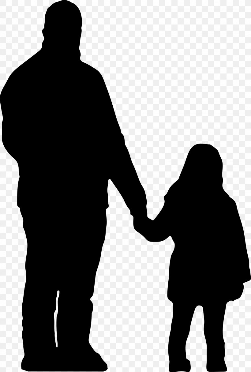 Father Daughter Silhouette Parent Clip Art, PNG, 1528x2265px.