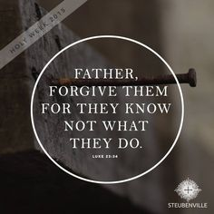 Father Forgive Them For They Know Not What They Do Clipart.