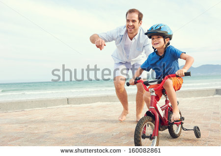 Father And Son Stock Images, Royalty.