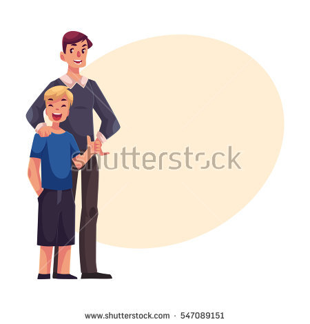 Parents And Teens Stock Images, Royalty.