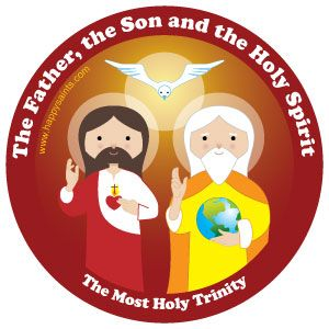 The Father, the Son, and the Holy Spirit =The Most Holy.
