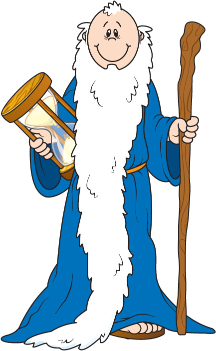 Father Time Clipart.
