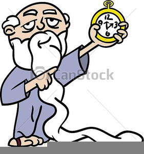 Father Time Free Clipart.