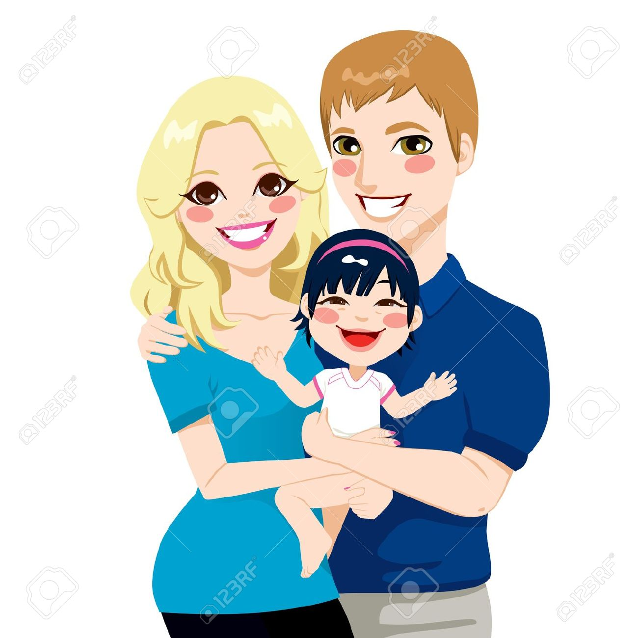 Father Wife Daughter Clipart 20 Free Cliparts  Download -8826